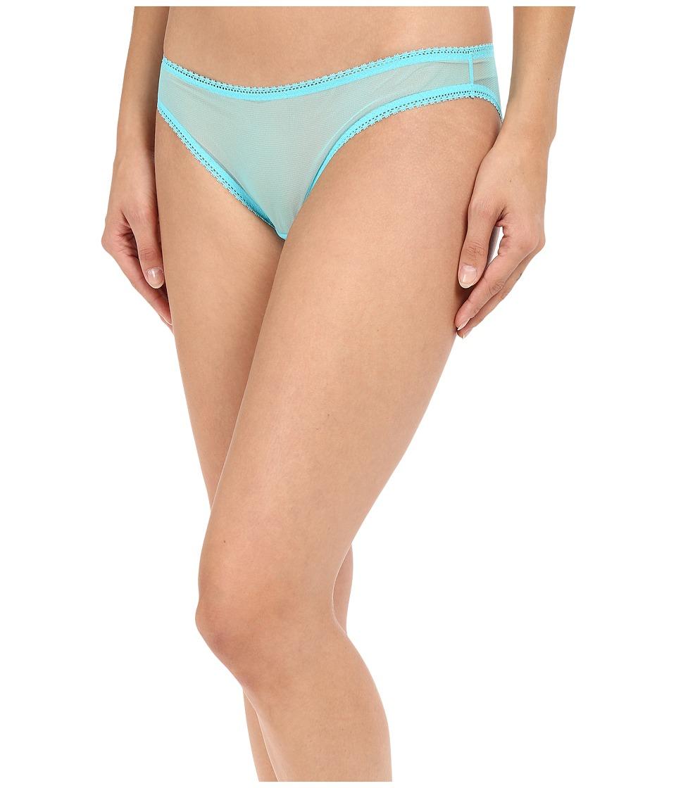 OnGossamer - Solid Gossamer Mesh Hip Bikini 3202 (Lagoon) Women's Underwear