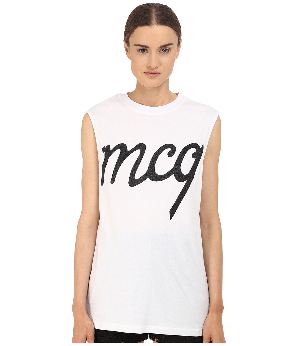 McQ - Boyfriend Tank Top (Optic White 1) Women's Sleeveless