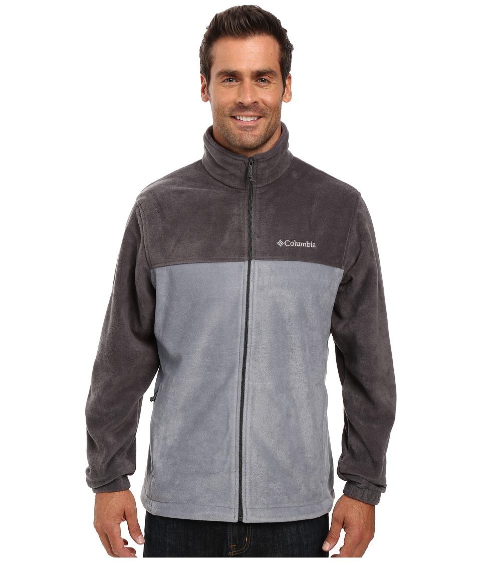 Columbia - Steens Mountaintm Full Zip 2.0 (Shark/Grey Ash) Men's Coat