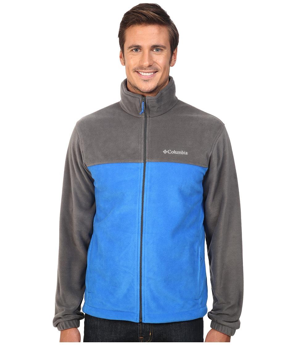 Columbia - Steens Mountain Full Zip 2.0 (Grill/Super Blue) Men's Coat