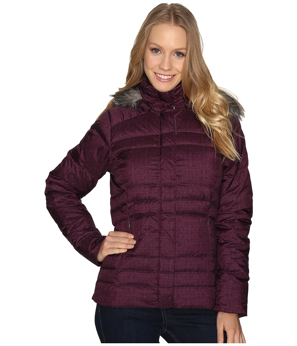 Columbia - Mercury Maven IV (Dusty Purple Tapestry Print) Women's Coat