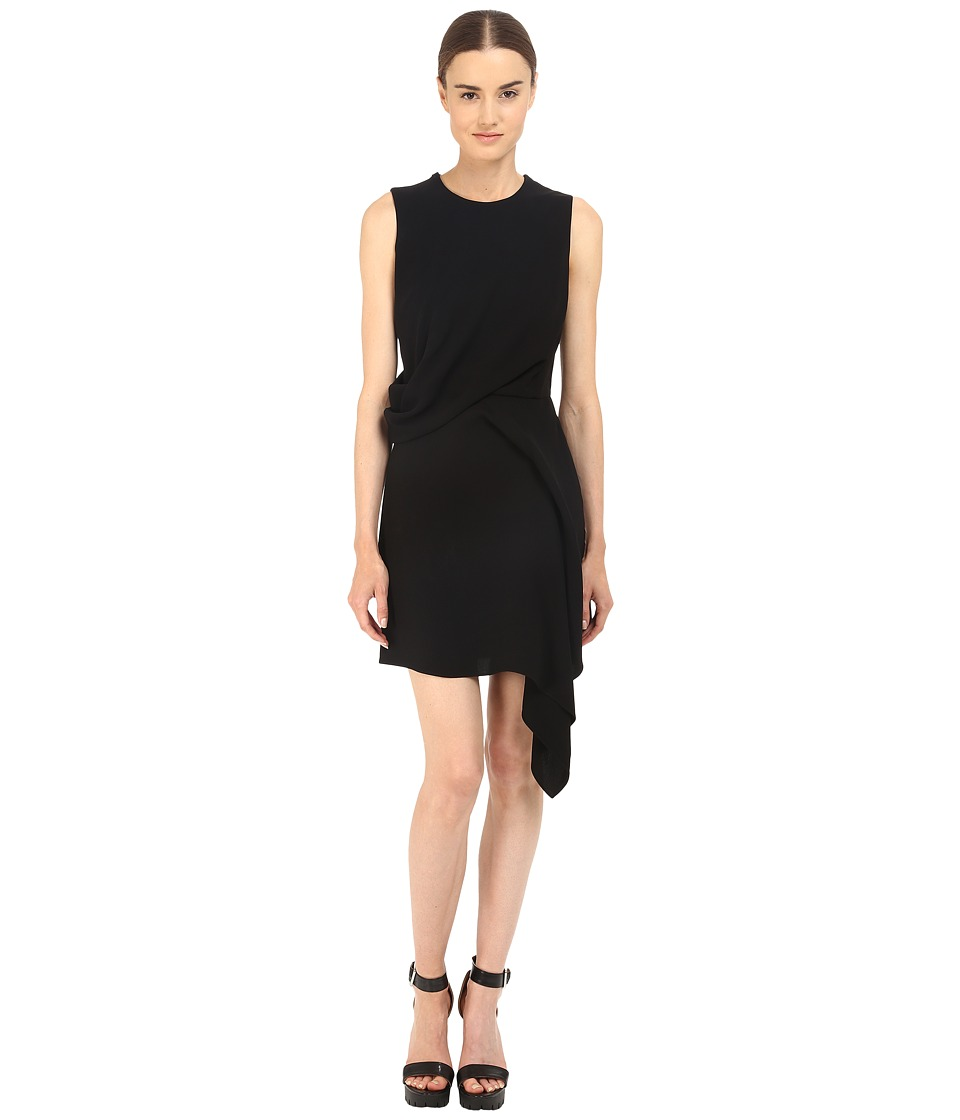 McQ - Handkerchief Dress (Black) Women's Dress