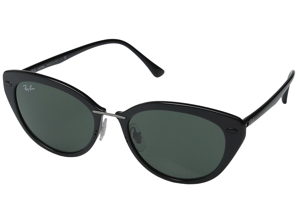Ray-Ban - RB4250 52mm (Black Frame/Green Lens) Fashion Sunglasses