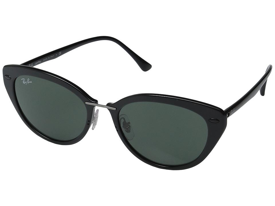 Ray-Ban - RB4250 52mm (Black Frame/Green Lens) Fashion Sunglasses