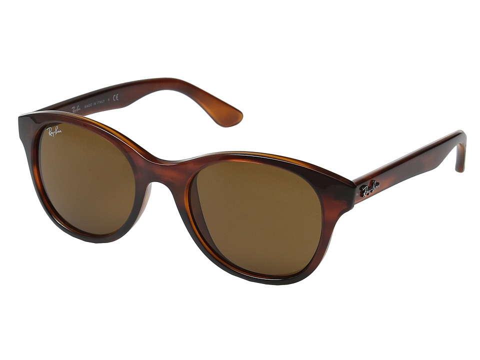 Ray-Ban - RB4203 51mm (Havana Frame/Dark Brown Lens) Fashion Sunglasses