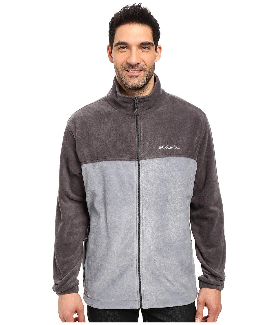 Columbia - Big Tall Steens Mountain Full Zip 2.0 Jacket (Shark/Grey Ash) Men's Coat