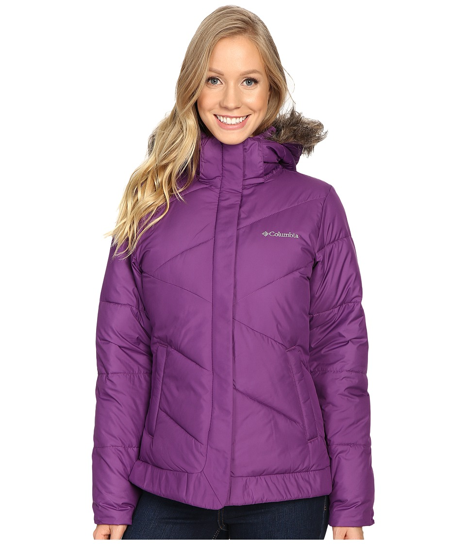 Columbia - Snow Eclipse Jacket (Iris Glow) Women's Coat