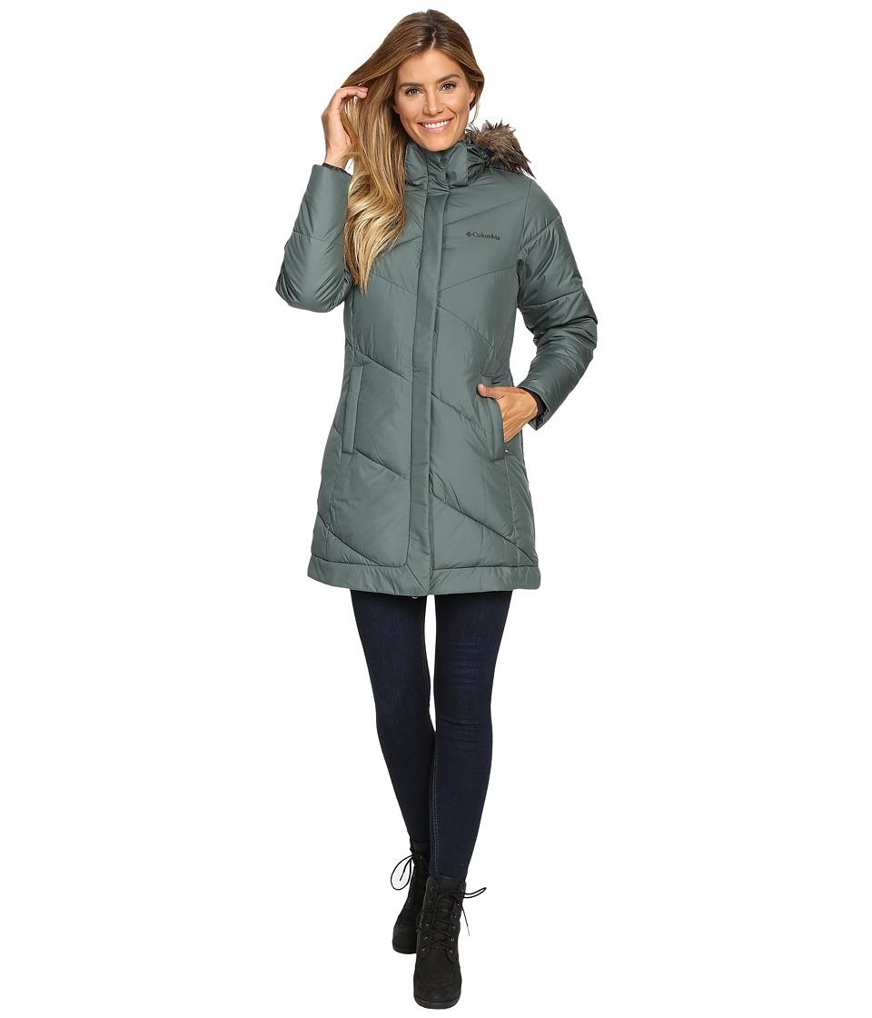 Columbia - Snow Eclipse Mid Jacket (Pond) Women's Coat