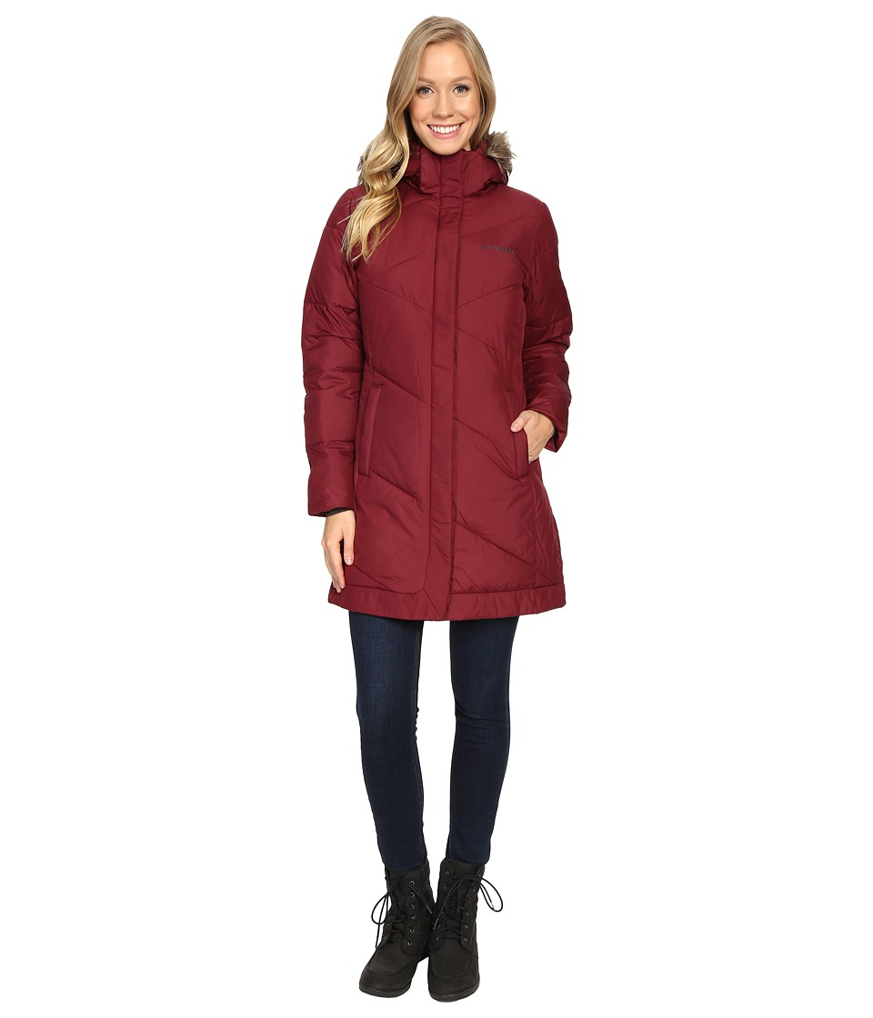 Columbia - Snow Eclipse Mid Jacket (Chianti) Women's Coat