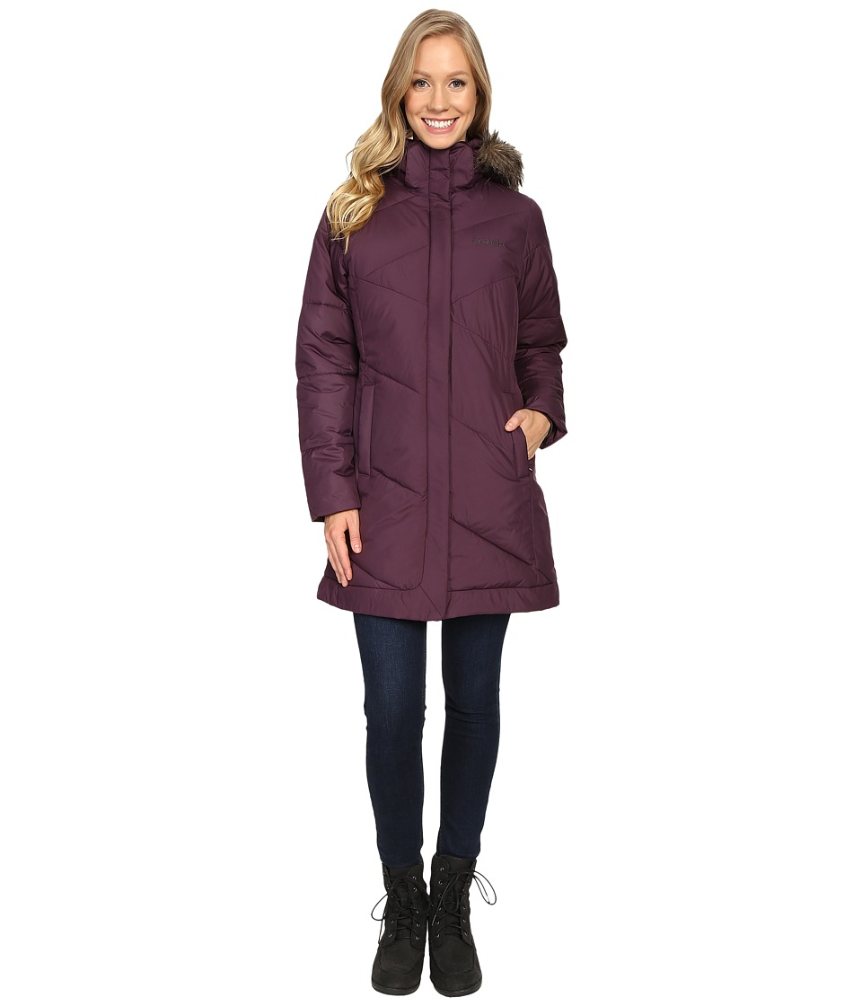 Columbia - Snow Eclipse Mid Jacket (Dusty Purple) Women's Coat