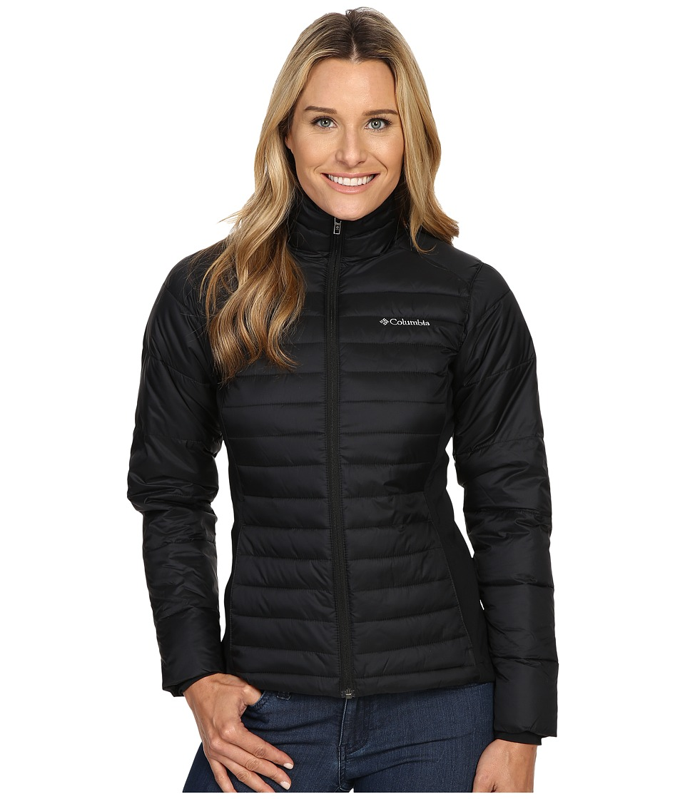 Columbia - Powder Pillow Hybrid Jacket (Black) Women's Coat