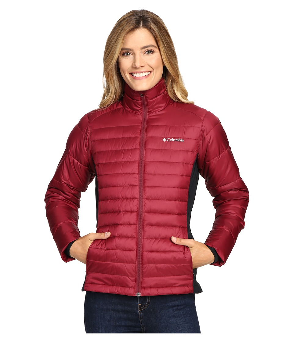 Columbia - Powder Pillow Hybrid Jacket (Chianti) Women's Coat
