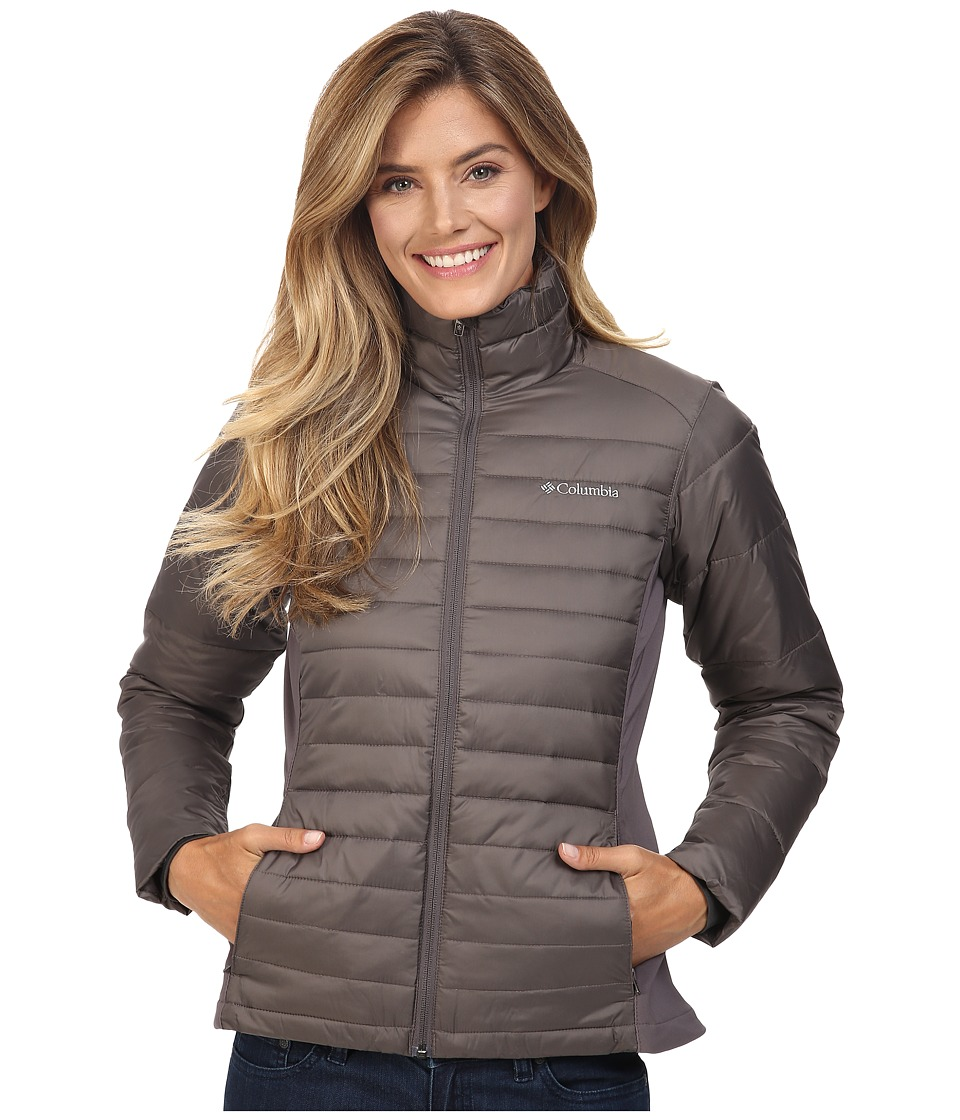 Columbia - Powder Pillow Hybrid Jacket (Mineshaft) Women's Coat