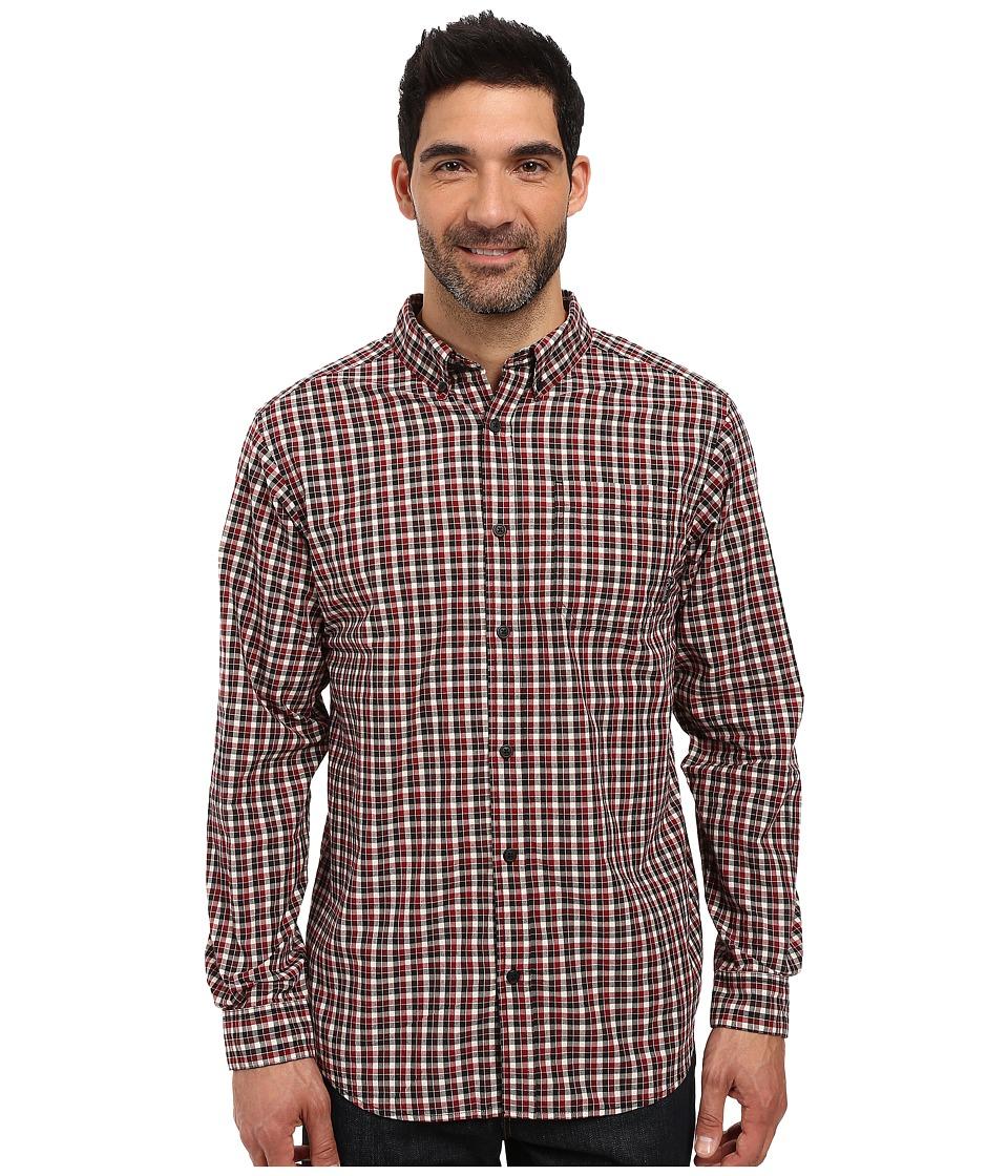 Columbia - Rapid Rivers Long Sleeve Shirt (Elderberry Gingham) Men's Long Sleeve Button Up