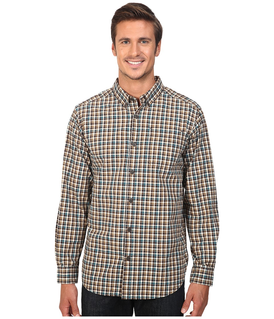 Columbia - Rapid Rivers Long Sleeve Shirt (Delta Gingham) Men's Long Sleeve Button Up