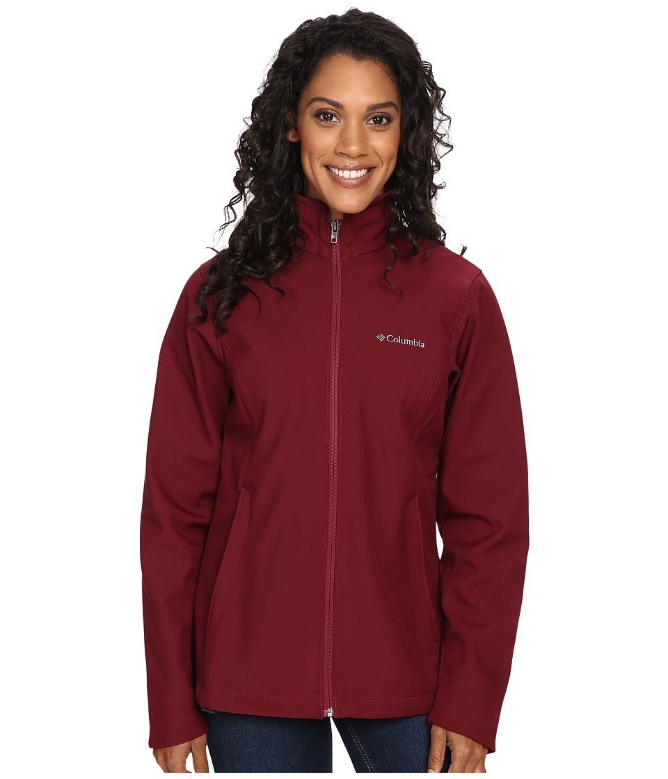 Columbia Kruser Ridge Softshell (Chianti) Women