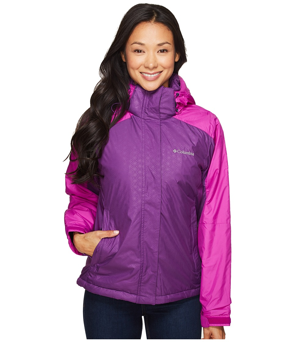 Columbia Gotcha Groovin Jacket (Iris Glow/Bright Plum) Women