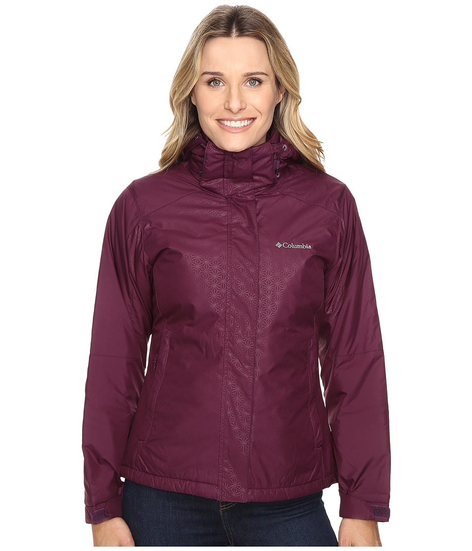 Columbia Gotcha Groovin Jacket (Purple Dahlia Emboss) Women