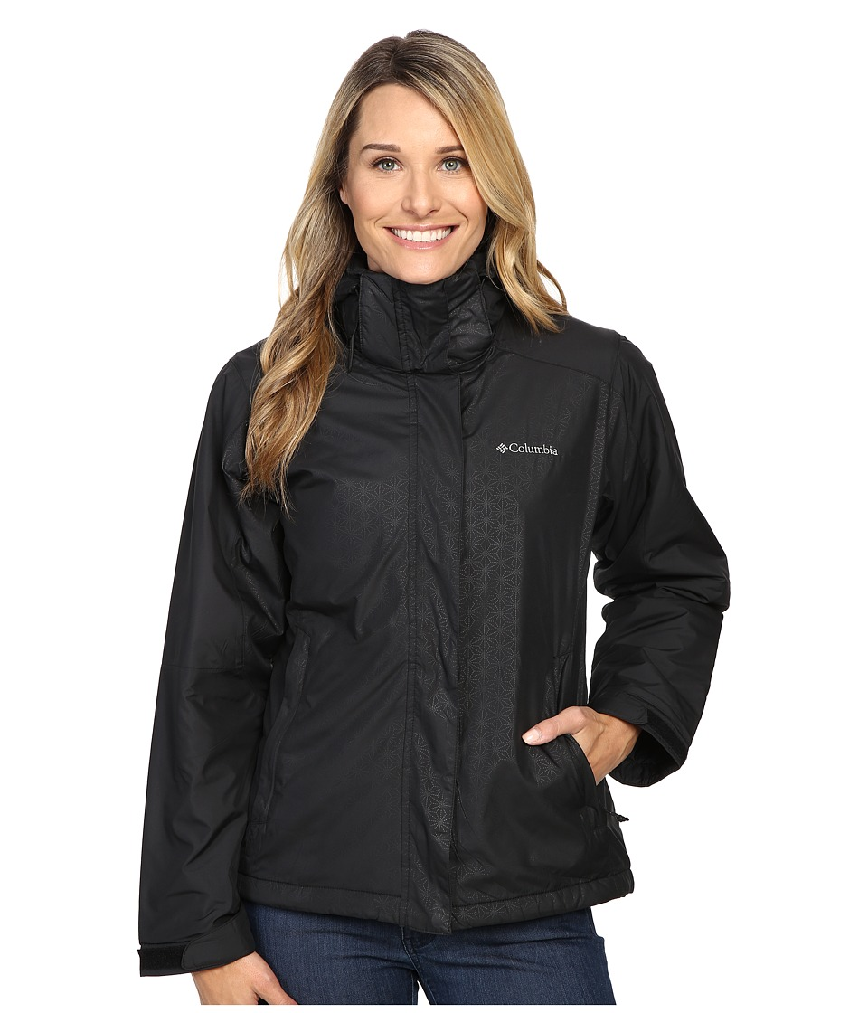 Columbia Gotcha Groovin Jacket (Black Emboss) Women