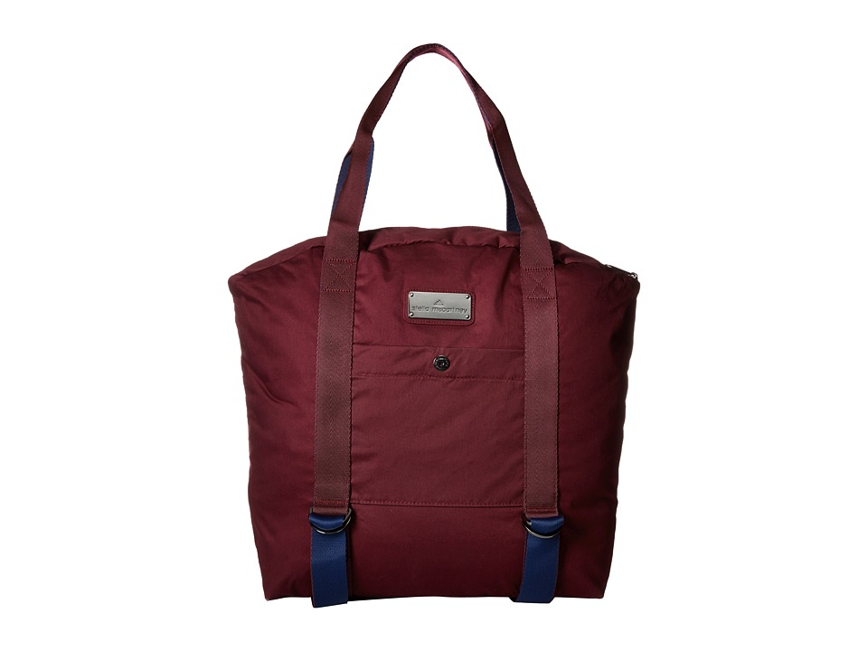 adidas by Stella McCartney - Yoga Bag (Maroon/Dark Blue/Vista Grey S15) Bags