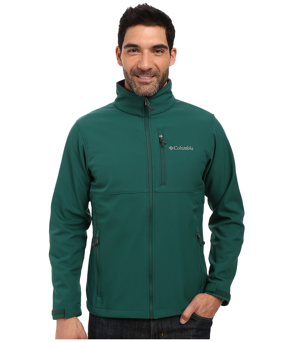 Columbia - Ascender Softshell Jacket (Wildwood Green) Men's Coat