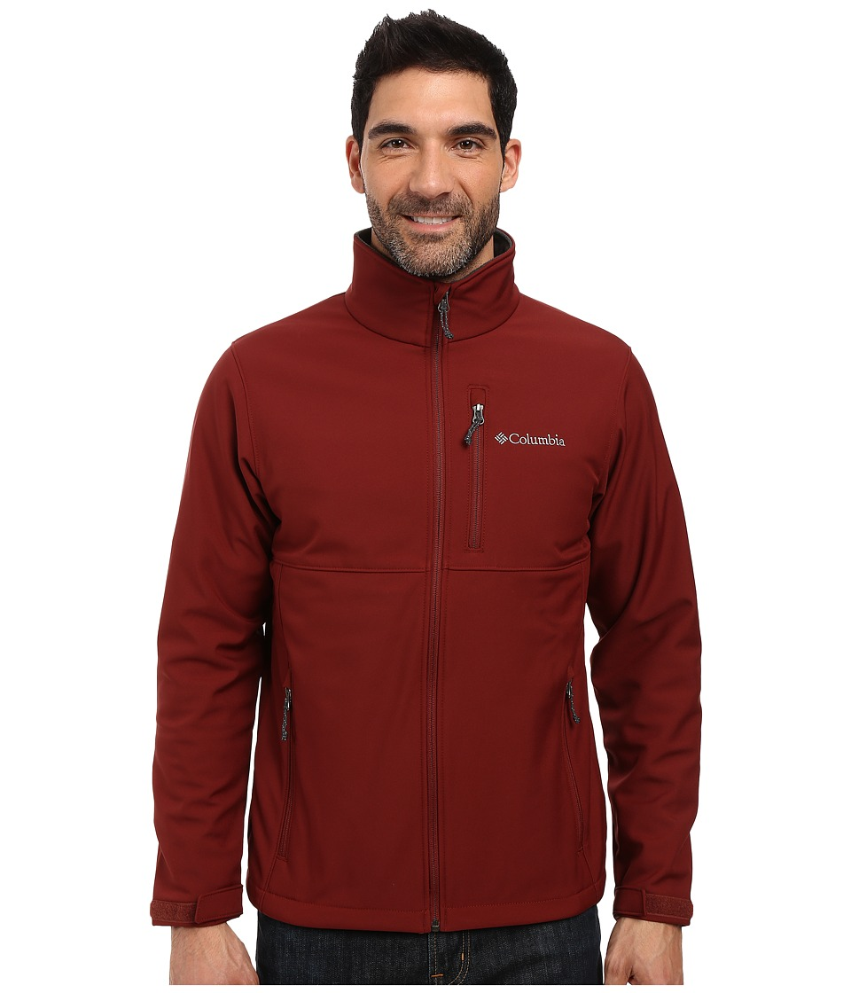 Columbia Ascender Softshell Jacket (Deep Rust) Men