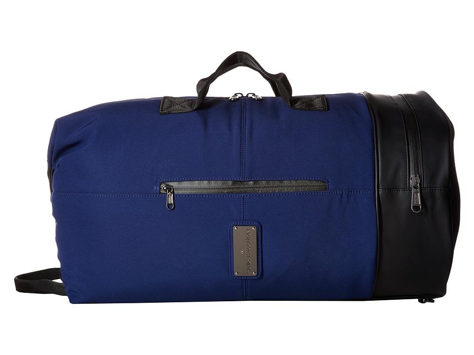 adidas by Stella McCartney - Big Sports Bag (Dark Blue/Black) Bags