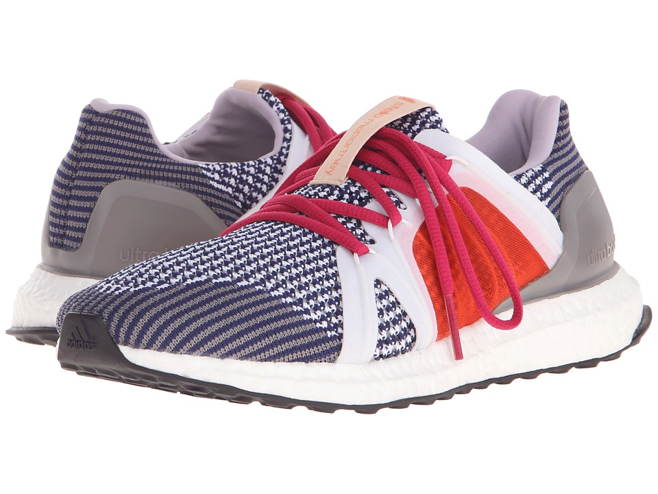 adidas by Stella McCartney - Ultra Boost (Dark Blue/Lavender/SMC/Radiant Gold F10) Women's Running Shoes