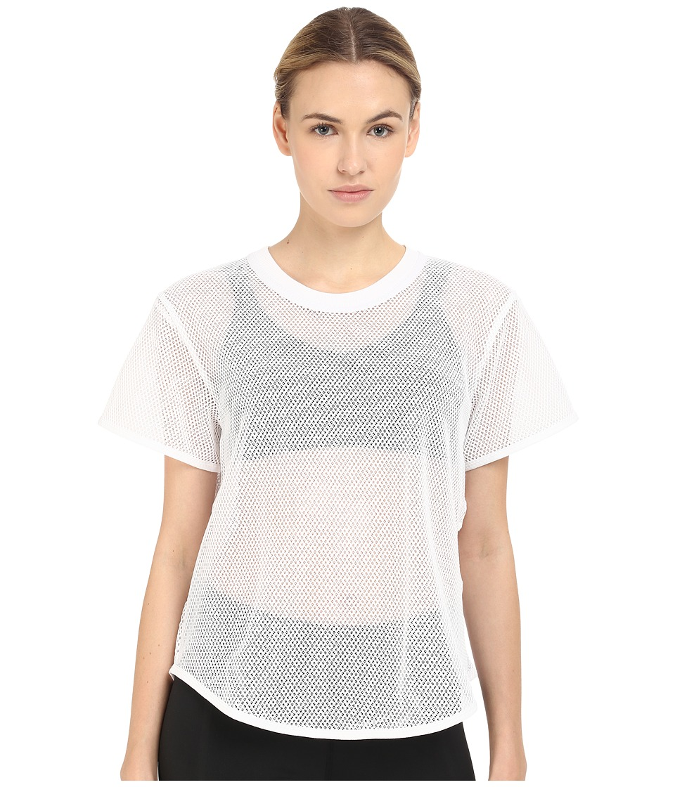 adidas by Stella McCartney - Swim Mesh Tee AI8409 (White) Women's Swimwear