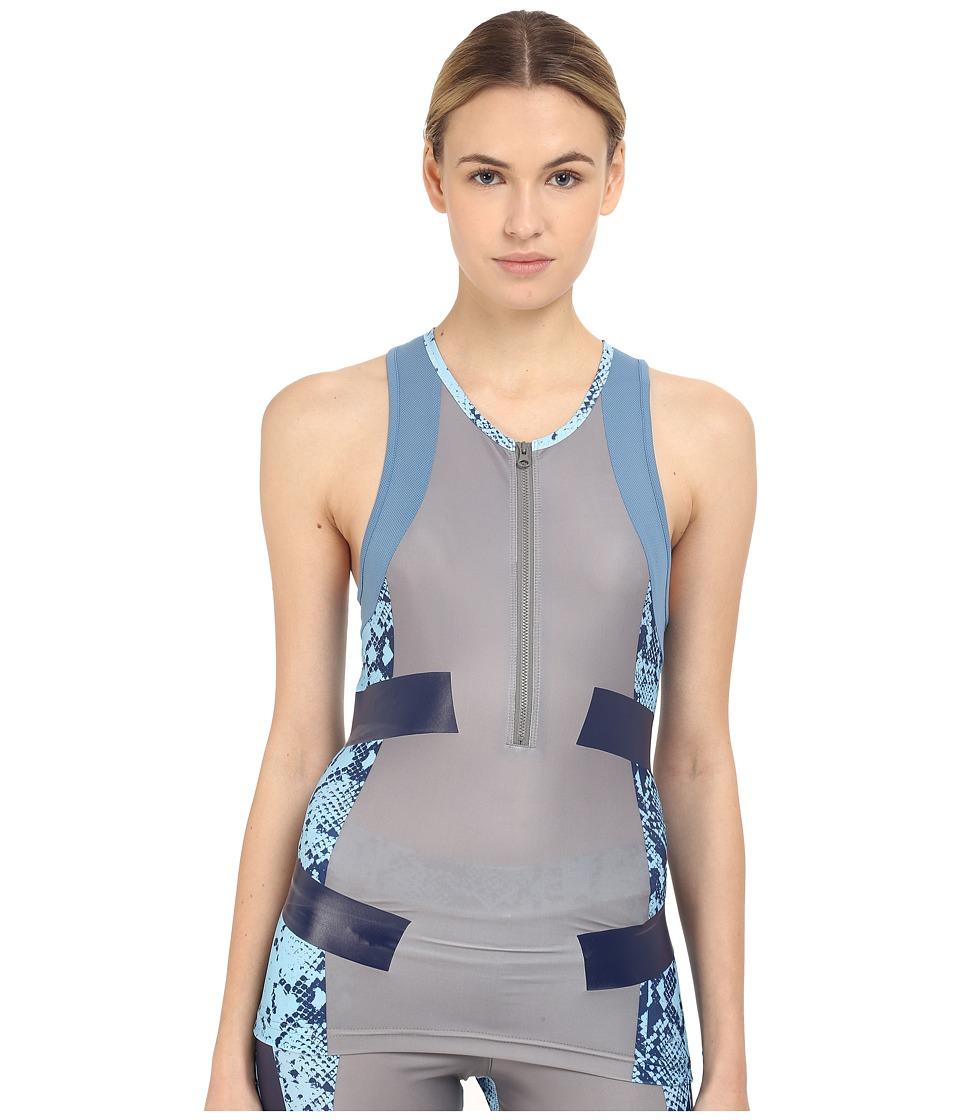 adidas by Stella McCartney - Run Techfit Tank Top AI8456 (Mystery F10/Oyster Blue/Smoked) Women's Sleeveless