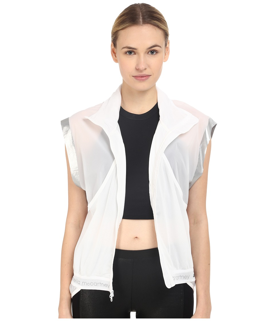 adidas by Stella McCartney - Adizero Gilet AI8474 (White) Women's Clothing