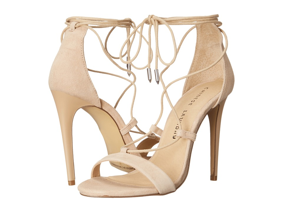 Chinese Laundry Jambi (Nude Kid Suede) High Heels