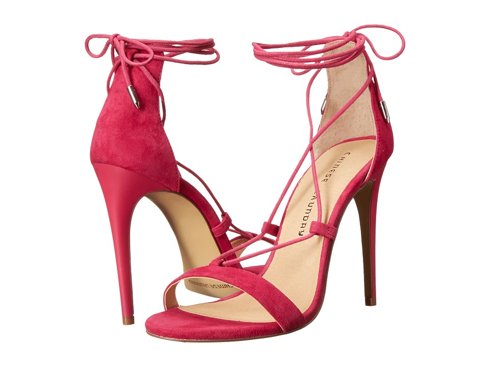 Chinese Laundry - Jambi (Shocking Pink Kid Suede) High Heels