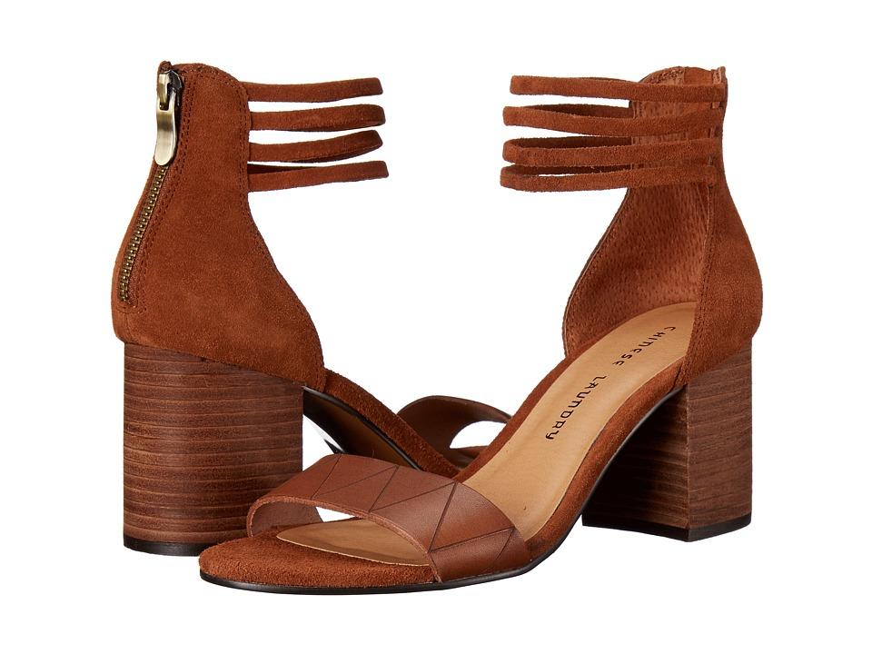 Chinese Laundry - Rylan (Cinnamon Split Suede) High Heels