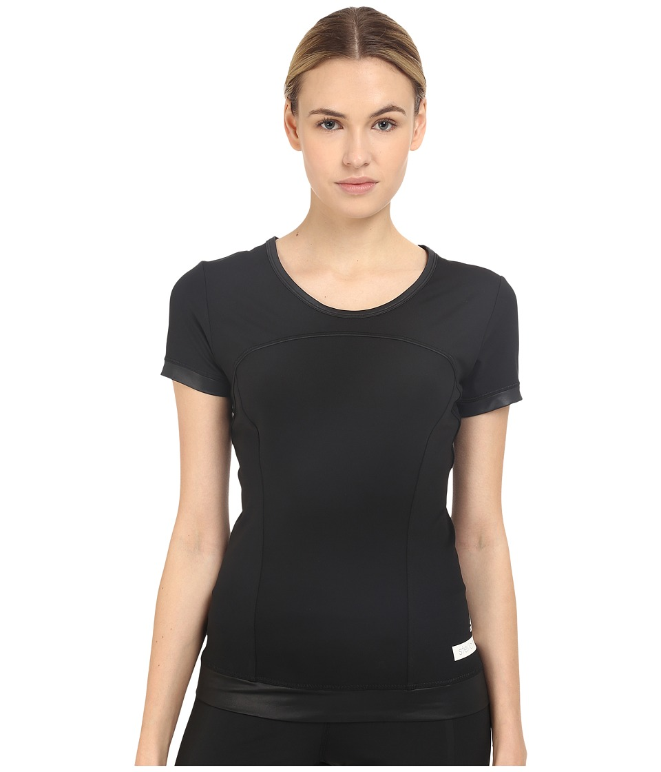 adidas by Stella McCartney - The Performance Tee AO3608 (Black) Women's T Shirt