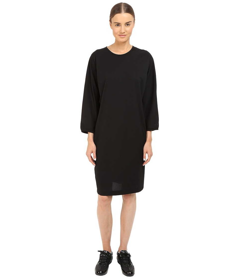 adidas Y-3 by Yohji Yamamoto - Lux Track Dress (Black) Women's Dress