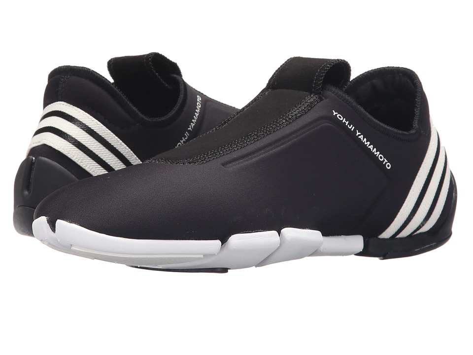 adidas Y-3 by Yohji Yamamoto - Mei II Stretch (Core Black/Core Black/Core White) Women's Slip on Shoes
