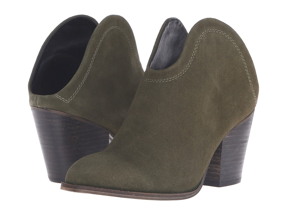 Chinese Laundry - Kelso (Olive Split Suede) Women's Pull-on Boots
