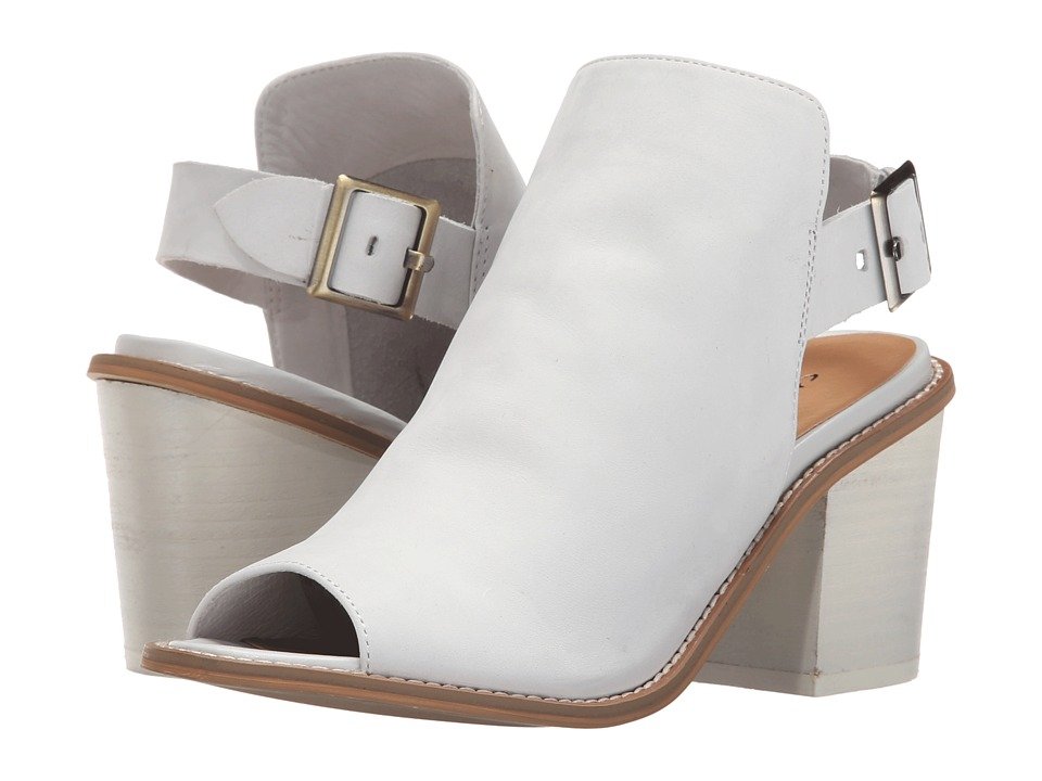 Chinese Laundry - Caleb (White Leather) High Heels
