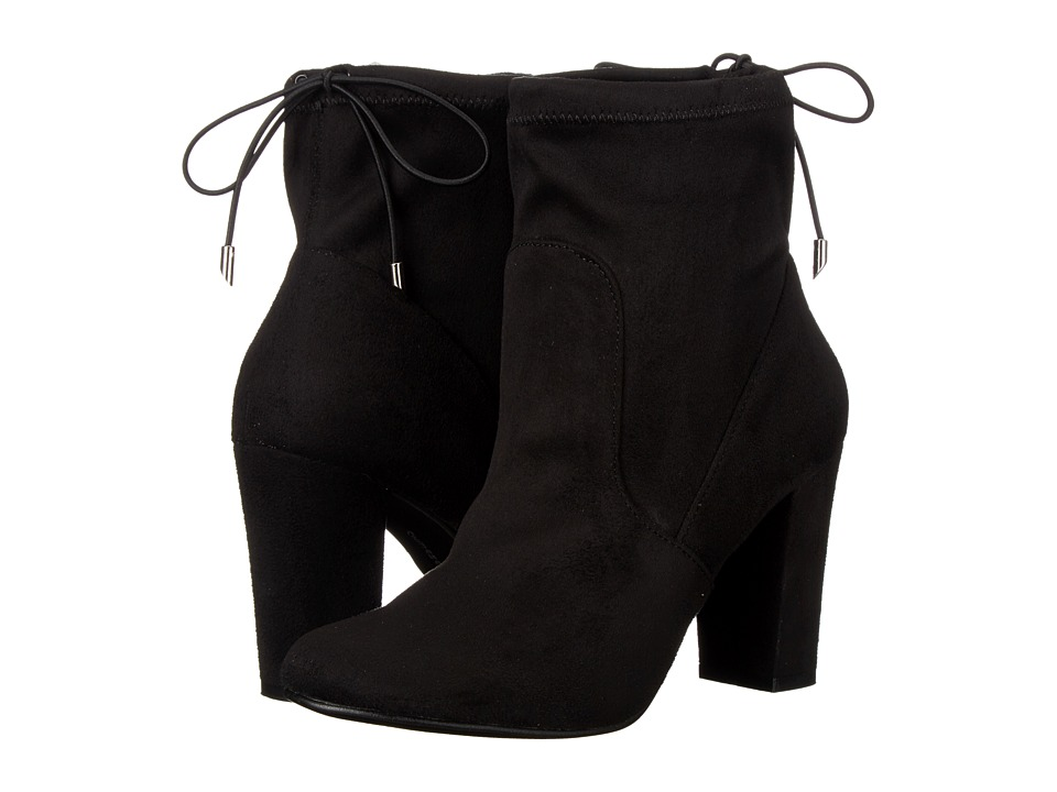 Chinese Laundry - Bailey (Black Micro Suede) Women's Pull-on Boots