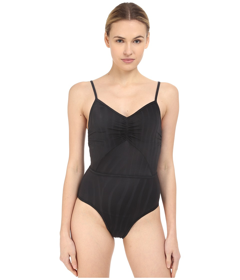adidas by Stella McCartney - Swimsuit Cover-Up Padded AO4765 (Black) Women's Swimsuits One Piece