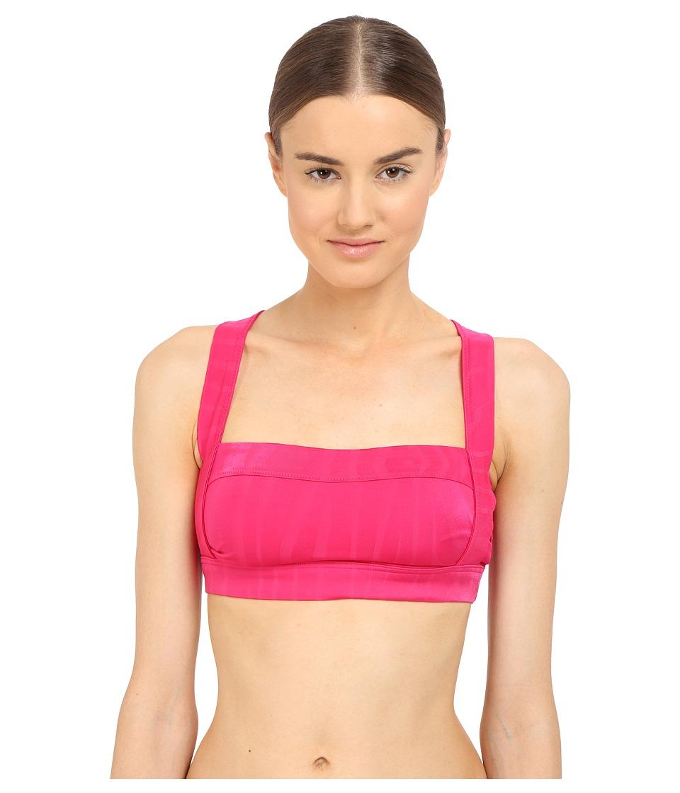 adidas by Stella McCartney - Swim Top Cover-Up AI8393 (Glow Pink/Smoked) Women's Swimwear