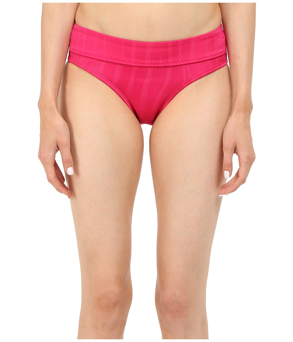 adidas by Stella McCartney - Swim Briefs Cover-Up AI8391 (Glow Pink/Smoked) Women's Swimwear