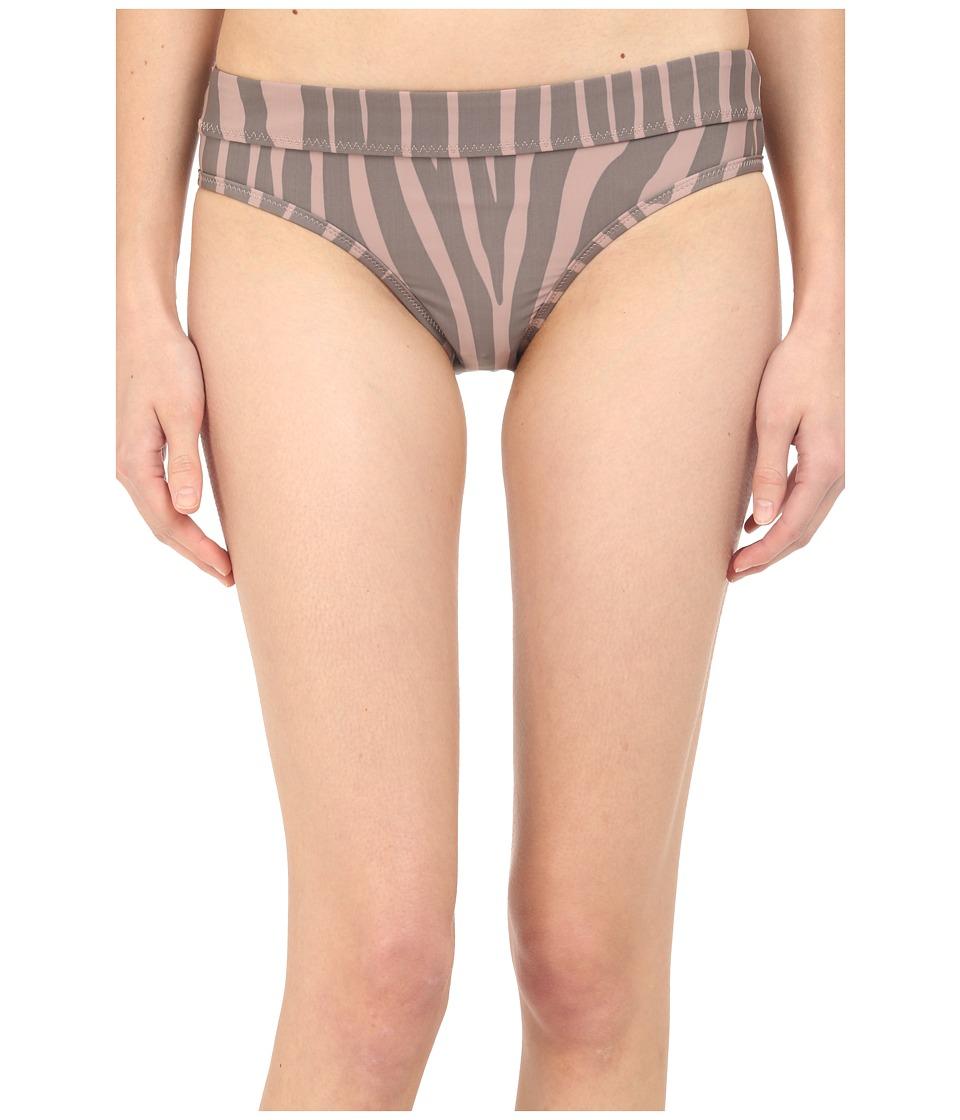 adidas by Stella McCartney - Swim Briefs Cover-Up AO2841 (Smoked Pink/Smoked/Mystery F10) Women's Swimwear