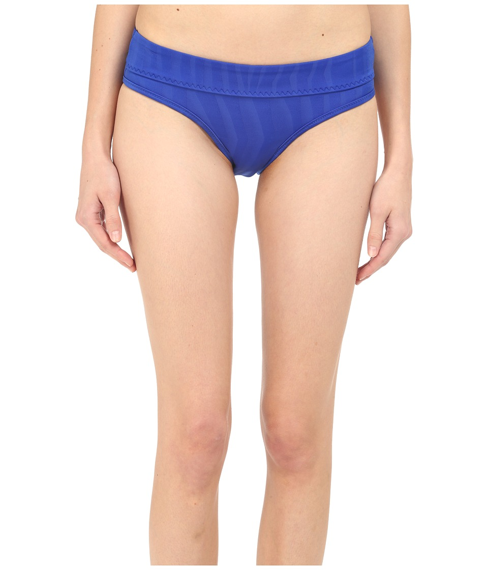 adidas by Stella McCartney - Swim Briefs Cover-Up AI8390 (Bold Blue) Women's Swimwear