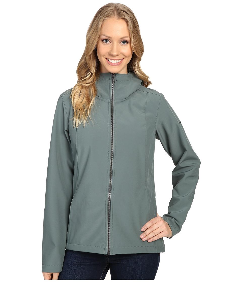 Columbia - Kruser Ridge Plush Soft Shell Jacket (Pond) Women's Coat