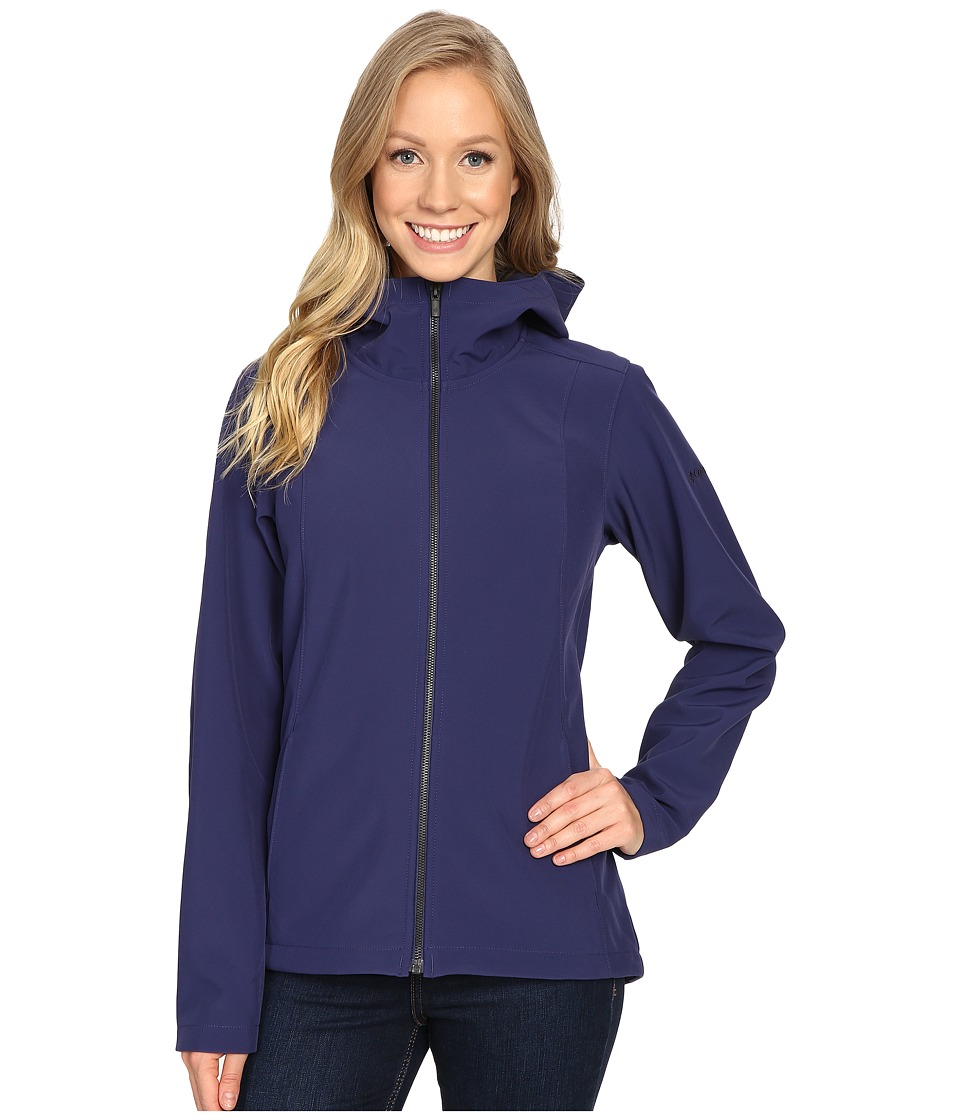 Columbia Kruser Ridgetm Plush Soft Shell Jacket (Nightshade) Women