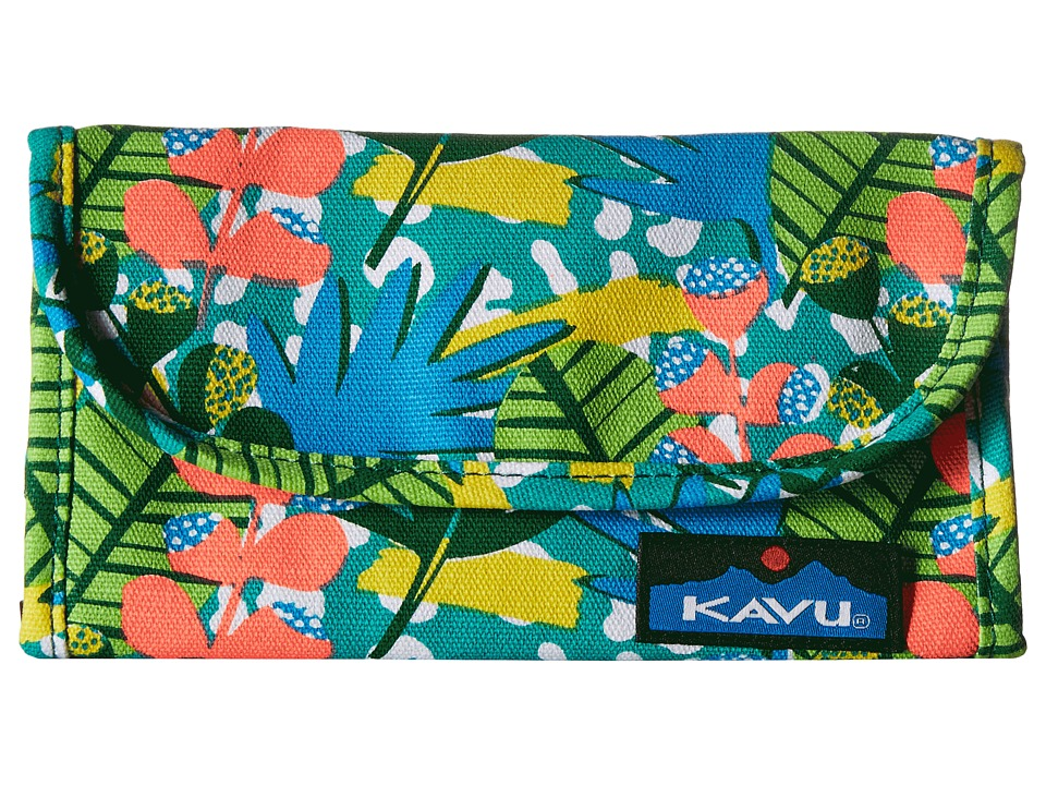 KAVU - Big Spender (Tropic Jungle) Wallet Handbags