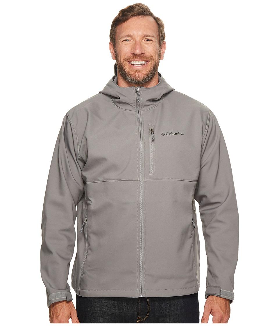 Columbia - Big Tall Ascendertm Hooded Softshell Jacket (Boulder) Men's Coat