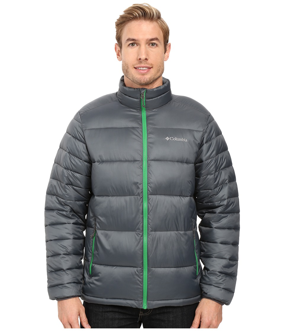 Columbia - Frost Fighter Jacket (Graphite/Fuse Green) Men's Coat